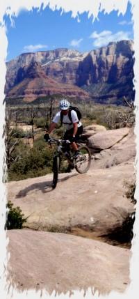 Slickrock-Biker